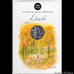 2014 - 10 euro Sempé - Liberté, automne