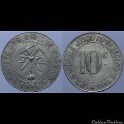 81 - Carmaux - 10 centimes