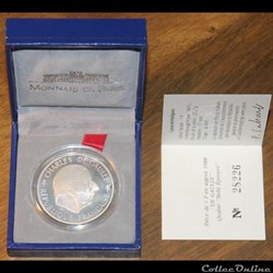 1988 - 1 franc argent B.E.