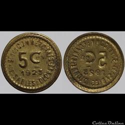 85 - Sables-d'Olonne - 5 centimes
