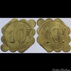 Jeton de 10 francs