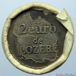 2 euro de Lozère (rouleau)