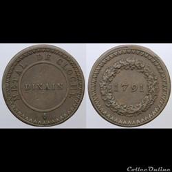 Constitution - Dixain - 1791