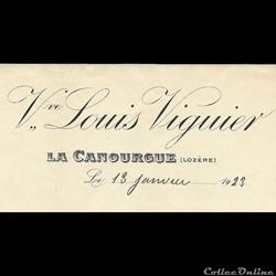 Viguier Louis (Veuve) - 1923