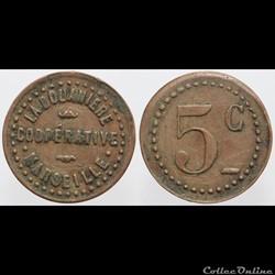 13 - Marseille - 5 centimes