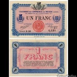 1 franc C.C.M. - Série B28