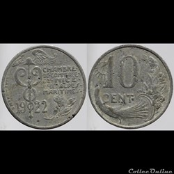 06 - Nice - 10 centimes