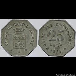 11 - Castelnaudary - 25 centimes