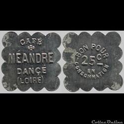 42 - Dancé - 25 centimes