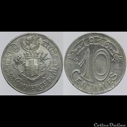 13 - Marseille - 10 centimes