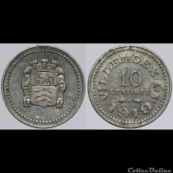 01 - Gex - 10 centimes