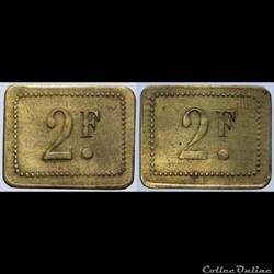 Jeton de 2 francs