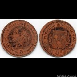 32 - Mirande- 5 centimes
