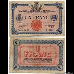 1 franc C.C.M. - Série D38