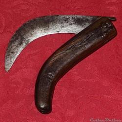 Couteau serpette, Thibaud - Sévérac