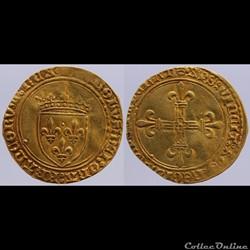 Charles VIII - Ecu d'or - Paris