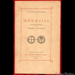 1907 - Catalogue n° 1, E. Bourgey