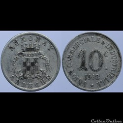 07 - Annonay - 10 centimes