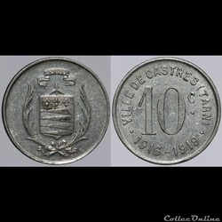 81 - Castres - 10 centimes