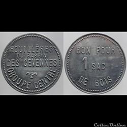 30 - Les Cévennes - 1 sac de bois