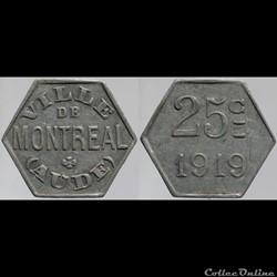 11 - Montréal - 25 centimes