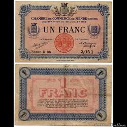 1 franc C.C.M. - Série D35