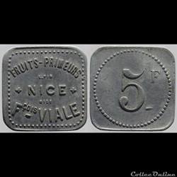 06 - Nice - 5 francs