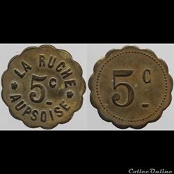 83 - Aups - 5 centimes