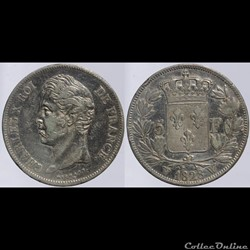 Charles X - 5 francs - 1828 Lille
