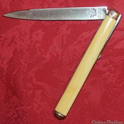Couteau Beligné XVIIIe