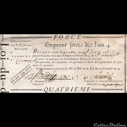 Bon pour 80 francs - La Canourgue (Lozèr...