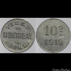 11 - Montréal - 10 centimes