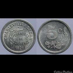 08 - Charleville-Sedan - 5 centimes