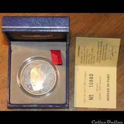 1992 - 15 écus/100 franc argent B.E.