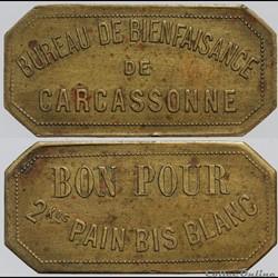 11 - Carcassonne - 2 Kos pain