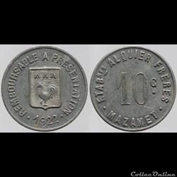81 - Mazamet - 10 centimes