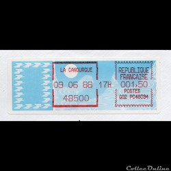 1988 - Vignette d'affranchissement