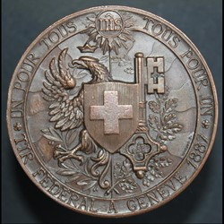 Tir fédéral Genève 1887