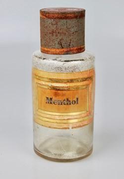 Flacon en verre très petit modèle Pharma...