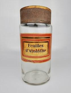 Flacon en verre Pharmacie RAVASSE