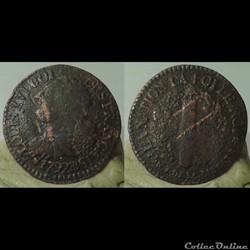 1792 BB - 3 deniers
