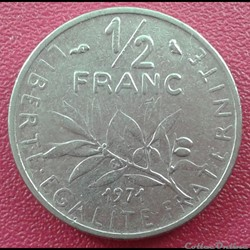 50 centimes 1971
