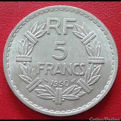 5 francs 1950 - ALU