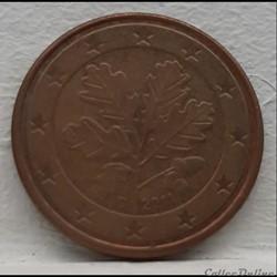 Allemagne - 2011 - D - 5 cents