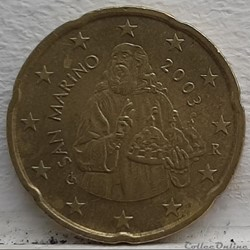 Saint Marin - 2003 - 20 cents