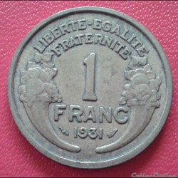 1 franc 1931