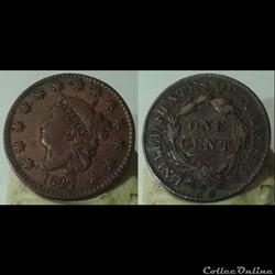USA - 1 cent 1827