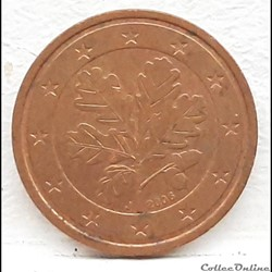 Allemagne - 2006 - J - 2 cents