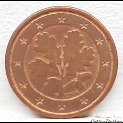 Allemagne - 2004 - F - 1 cent
