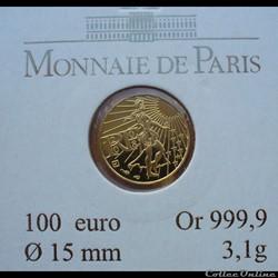 France - 2008 - 100 euros